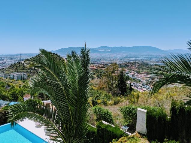 Malaga w pool
